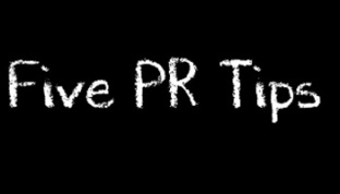 Five PR tips this semester